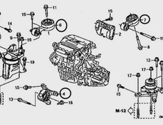 Honda - OEM Parts - Civic Type R FD2
