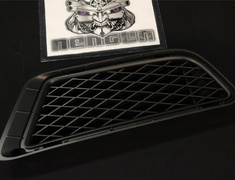 Civic - Type R - FD2 - Front Bumper - Side Under Grille (RH) (NH547) - Black - Category: Body - 71106-SNW-000