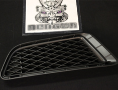 Civic - Type R - FD2 - Front Bumper - Side Under Grille (LH) (NH547) - Black - Category: Body - 71108-SNW-000