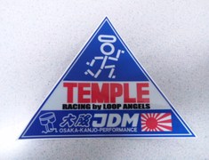Osaka JDM - Temple Racing Collab Sticker