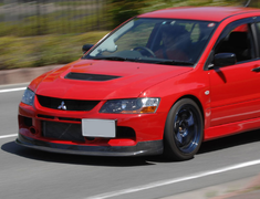 Deck Japan - Carbon Lip Spoiler - Evo 9