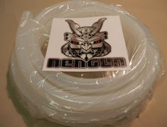 Silicone Hose ID - Clear White