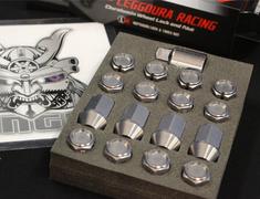 Universal - KIC16G - Gunmetal - M12xP1.5 - 35mm - 16 Nuts - Locking