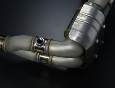 Monster Sport - 4-2-1 Exhaust Header Twin Catalyst