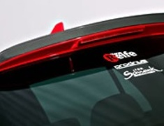 Rear Roof Lip Spoiler FRP for Golf5 GTI