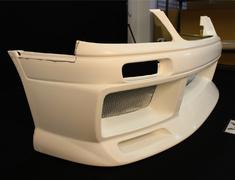 FRONT BUMPER Nissan - Stagea 260RS - WGNC34 - Front Bumper Spoile