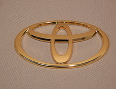 Rear Emblem - Gold