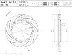 Endless - Brake Rotor - E-Slit