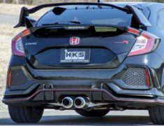 Civic Type R - FK8 - Pieces: 3 - Pipe Size: 65mm - Tail Size: 94mm - Weight: 11.6kg - 31019-AH006