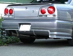 ER34 4DR Rear Bumper