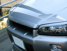 URAS - Type R - Nissan ER34 Skyline - 4 Door Bonnet Lip