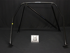 Pulsar GTiR - RNN14 - RNN14 - Nissan - Pulsar GTiR - RNN14 (no sunroof) - 4 Point - Trunk Through Type 4 - Steel + Rear Vi