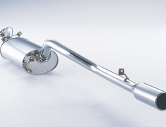 Pajero - V45W - Pieces: 2 - Pipe Size: 60.5mm - Tail Size: 100mm - Weight: 15.7kg - Tail Type: Round Straight (II) - 260-30939