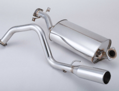 Pajero Evolution - V55W - Pieces: 1 - Pipe Size: 60.5mm - Tail Size: 100mm - 760-30949