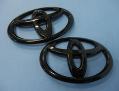 Grazio - Toyota Emblems - Solid Color Emblem - Carbon