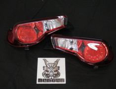Colored Tail lens Red & Clear