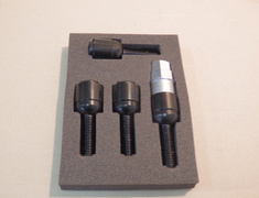 4 Locking Bolts Only - Black