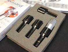 - Colour: Black - Length: 28mm / 58mm - Quantity: 4 - Taper: 60deg - Thread: M14xP1.5 - R630B-28