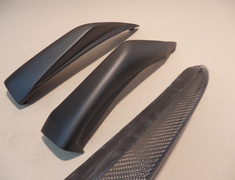 CPV35CarbonFLS Type 2 Nissan - Skyline 350GT - CPV35 - Carbon / FRP Front Lip Spoiler - Type 2