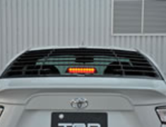 86 - ZN6 - Rear Window Louvers - Can not install with MS346-18001 - Construction: AES Resin - Colour: Non-painted - MS317-18001