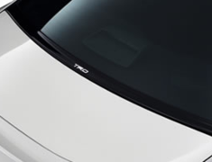 86 - ZN6 - Aero Stabilizing Cover - Can't be installed with Rear Window Louver - Construction: PPE Resin - Colour: Black - MS346-18001