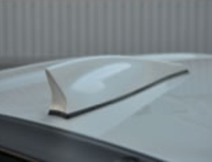 86 - ZN6 - Roof Fin - Pole Antenna equipped vehicles - Colour: Satin White Pearl (37J) - Construction: ABS - MS