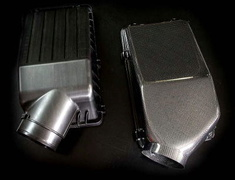 M and M Honda - Super Carbon Air Box & Aero Intake Duct