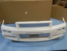 62020-RNR45 Nissan - R34 Skyline GTR - BNR34 - Nismo Front Bumper - (does not include bottom lip) se