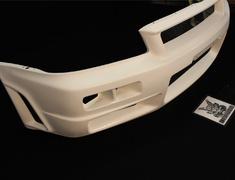 Skyline GT-R - BNR34 - Front Bumper - Construction: FRP - Colour: Unpainted - 62020-RSR45