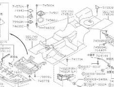 Nissan - Engine Under Cover for BNR34 VSpec