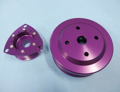 RX-7 - FD3S #2 - Large-diameter pulley kit - Mazda RX7 FD3S Purple