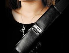 Garson - Luxury Seat Belt Pad Type Gloss