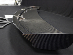 S2000 - AP1 - DGW2-S1-W - Type 2 Wet Carbon 1600 - W: 1600mm H: 195mm - Fixed Side Trunk Mount