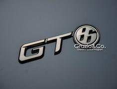 Grazio - EUR GT86 Emblem - Black Chrome