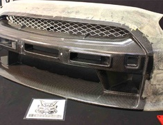 GT-R - R35 - Nissan GTR R35 Front bumper and front lip. ( No LED) - R35 Front Bumper