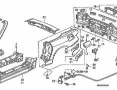 Honda - OEM Parts - S2000 AP1/AP2
