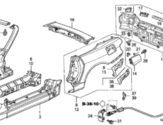 S2000 - AP1 - Rear Panel Assembly (item #15 in diagram) - Category: Exterior - 66100-S2A-A01ZZ