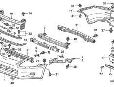 S2000 - AP1 - Front Bumper Reinforcing Beam (#9 in diagram) - Category: Exterior - 71130-S2A-G01ZZ