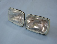 811105(90981-04030) Toyota MR2 AW11 4AGE Head light assemble x 2