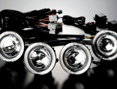 Garson 4 LED Ring Fog Lamp Kit