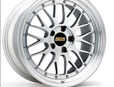 BBS LM Wheels - Silver
