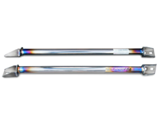 Carbing - Frame Brace Front Upper Titanium