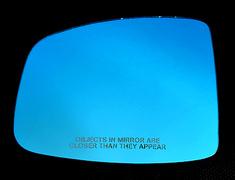 Seeker - Super Wide Blue Mirror