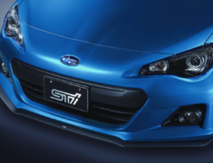 BRZ - ZC6 - Front Under Spoiler (E2410CA000, ST96020AS000) - Colour: Semi-gloss Black - SG517CA100