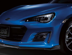 BRZ - ZC6 - Front Under Spoiler - Colour: Semi-gloss Black - SG517CA110