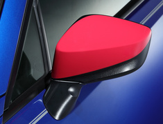 BRZ - ZC6 - Door Mirror Cover, Left - Colour: Cherry Red - ST91054AS010