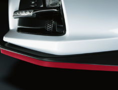 BRZ - ZC6 - Skirt Lip - Construction: Rubber - Colour: Cherry Red - ST96020ST010