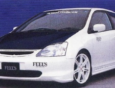 FEEL'S - Front grill Civic Type R EP3