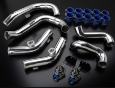 GT-R - R35 - Piping Kit and 2x Blow off valves - 12020944