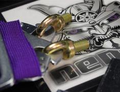 Universal - HPRH4301PUR - 3inch 4P Purple RH